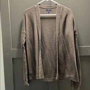 Grey Gap cardigan sweater